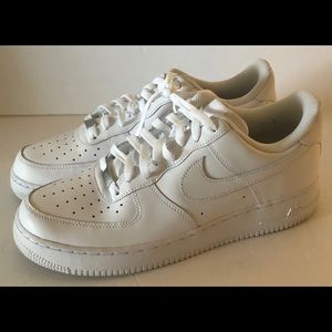 Nike Air Force Mens Low Top White 10.5